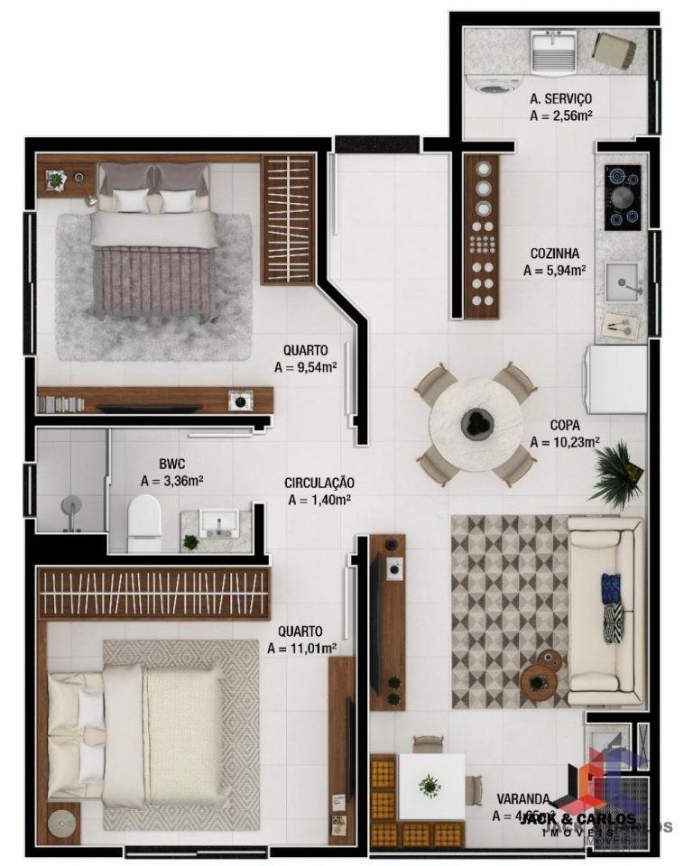 Apartamento no Figueira – Gaspar – Venda